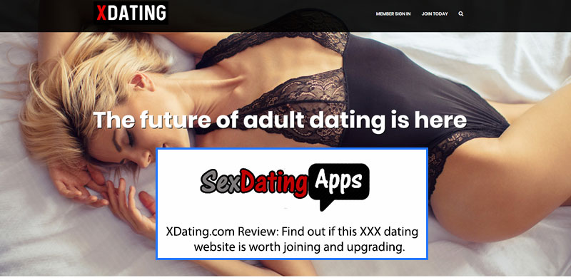new Xdating homepage
