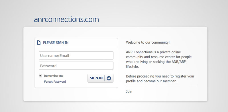 ANRConnections Homepage