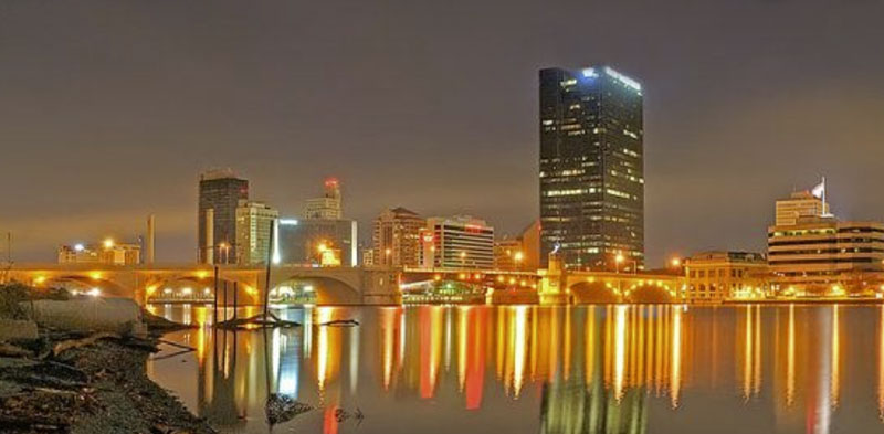 Skyline of Toledo, Ohio