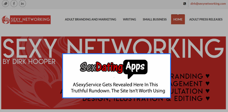 ASexyService homepage