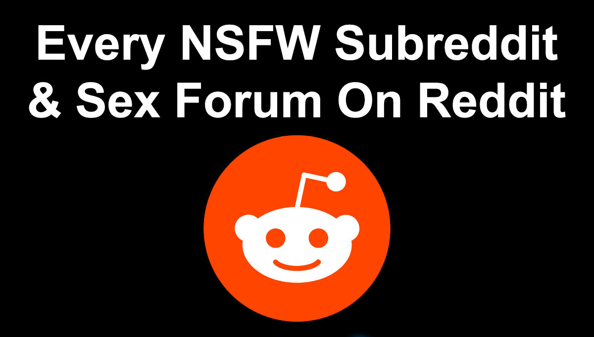 NSFW Subreddit List