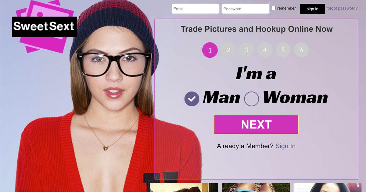 sweetsext homepage