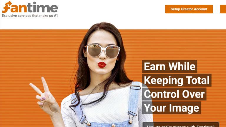 Fantime.com homepage